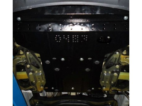 Фото Защита двигателя Mercedes Sprinter кроме 4x4 2013- Кольчуга