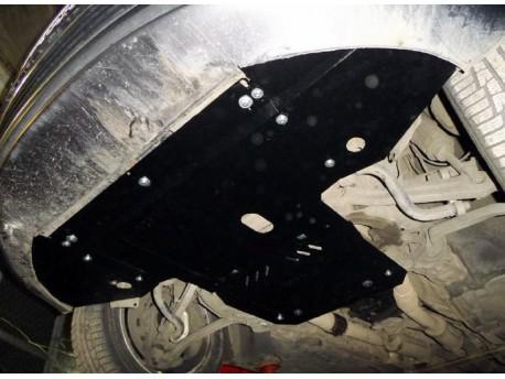 Фото Защита двигателя Audi A8 V-3.0 Tdi 2002-2010 Кольчуга ZiPoFlex