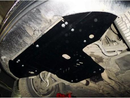 Фото Защита двигателя Audi A8 2002-2010 Кольчуга ZiPoFlex