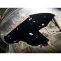 Защита двигателя Audi A8 2002-2010 Кольчуга ZiPoFlex