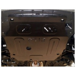 Защита двигателя Chevrolet Aveo 2012-2015 Кольчуга