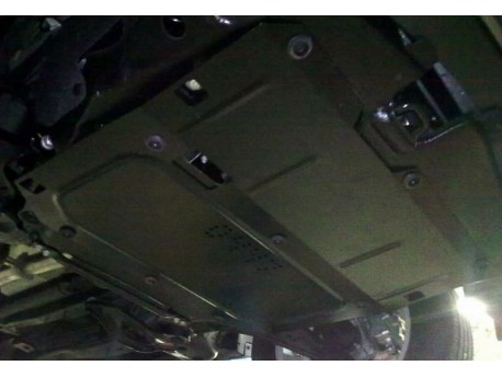 Фото Защита двигателя Chevrolet Captiva 2011-2015 2.2D Кольчуга