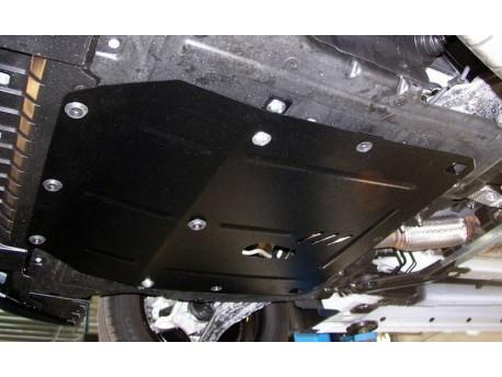 Фото Защита двигателя Chevrolet Cruze 2009- бензин Кольчуга