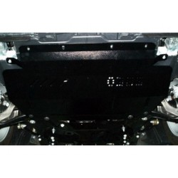 Защита двигателя Citroen C5 2008-2015 со стальным подрамником Кольчуга