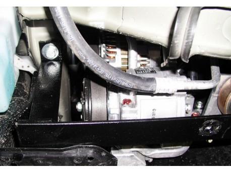 Фото Защита двигателя Citroen C-Crosser 2007-2013 Кольчуга