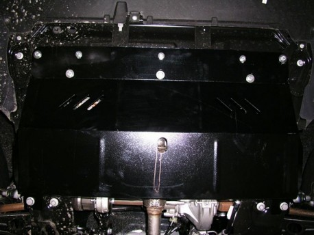 Фото Защита двигателя Citroen Jumpy 2007- Кольчуга