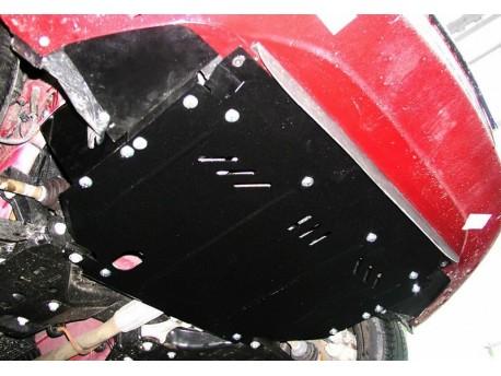 Фото Защита двигателя Fiat Grande Punto 2009-2013 V-1.3 D дизель Кольчуга