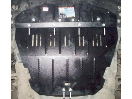 Фото Защита двигателя Fiat Scudo 1994-2007 кроме 2.0 HDI Кольчуга