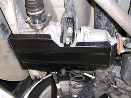 Фото Защита раздатки Fiat Sedici 2006- Кольчуга