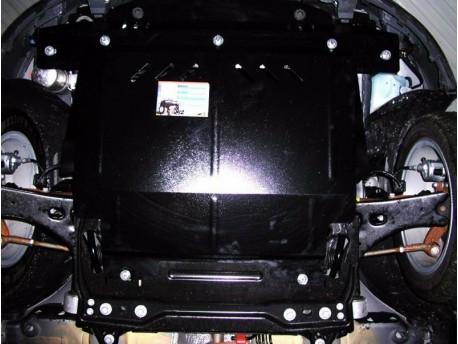 Фото Защита двигателя Ford Fiesta 2002-2008 Кольчуга