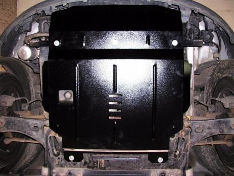 Фото Защита двигателя Ford Fiesta 2002-2008 V-1.4 D Кольчуга