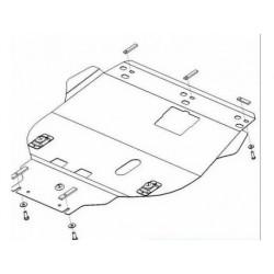 Защита двигателя Ford Focus C-Max 2003-2010 дизель Кольчуга