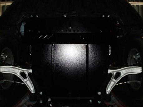 Фото Защита двигателя Ford Focus C-Max 2010- Кольчуга