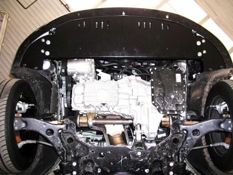 Фото Защита двигателя Ford Focus 2004-2011 бензин Кольчуга