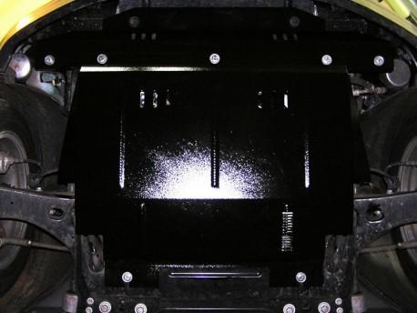 Фото Защита двигателя Ford Fusion 2002-2012 дизель Кольчуга