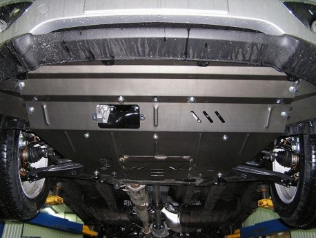 Фото Защита двигателя Hyundai IX35 2010-2015 бензин Кольчуга