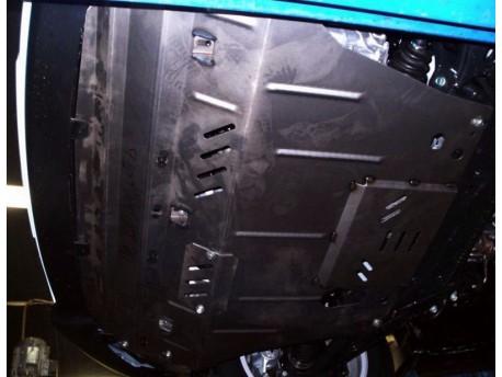 Фото Защита двигателя Hyundai IX35 2010-2015 дизель Кольчуга
