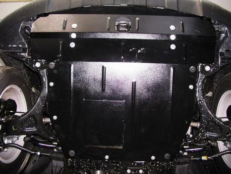 Фото Защита двигателя Hyundai Santa Fe 2006-2012 Кольчуга
