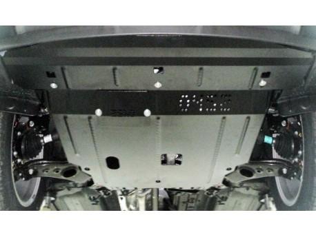 Фото Защита двигателя Hyundai Santa Fe 2013- Кольчуга
