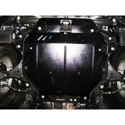 Защита двигателя Hyundai Sonata 2010-2015 овальный подрамник Кольчуга