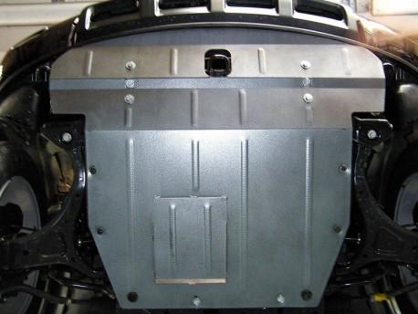 Фото Защита двигателя Hyundai Veracruz 2006-2012 Кольчуга