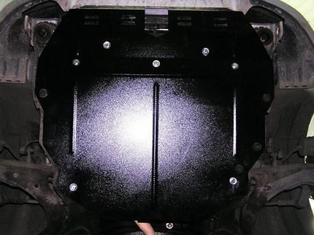 Фото Защита двигателя Kia Cerato 2004-2009 Кольчуга ZiPoFlex