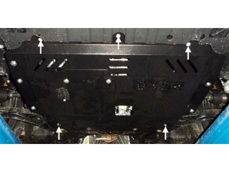 Фото Защита двигателя Kia Cerato 2013- Кольчуга