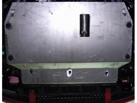 Фото Защита двигателя Kia Rio 2005-2009, 2009-2011 Кольчуга