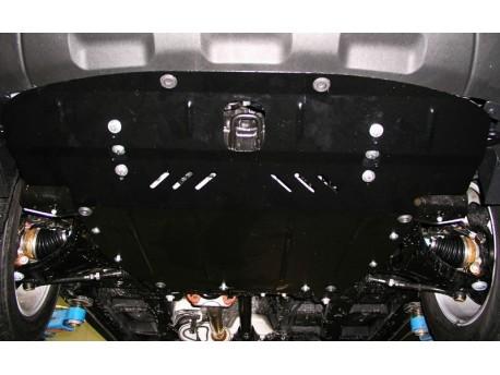 Фото Защита двигателя Kia Sorento 2009-2012 Кольчуга