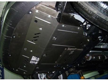 Фото Защита двигателя Kia Sportage 2010-2015 АКПП Кольчуга