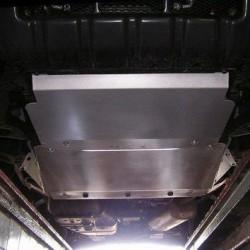 Защита двигателя Mitsubishi Pajero 2006-2015 дизель Кольчуга ZiPoFlex