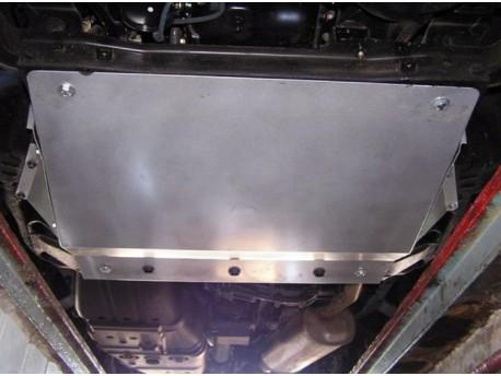Фото Защита двигателя Mitsubishi Pajero 2006- бензин Кольчуга ZiPoFlex