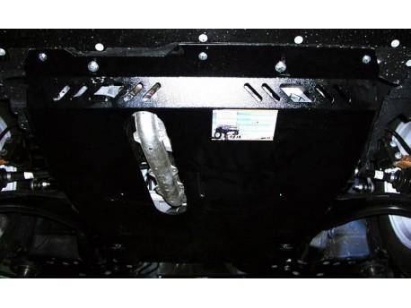 Фото Защита двигателя Nissan Note 2005-2009, 2009-2014 V-1.4 Кольчуга