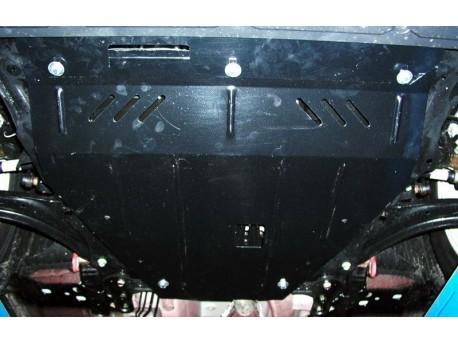 Фото Защита двигателя Nissan Qashqai 2007-2010, 2010-2014 Кольчуга