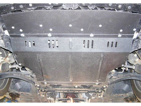 Фото Защита двигателя Nissan Tiida 2004-2014 Кольчуга