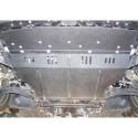 Защита двигателя Nissan Tiida 2004-2014 Кольчуга