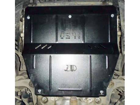 Фото Защита двигателя Peugeot 407 2004-2010 Кольчуга