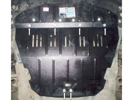 Фото Защита двигателя Peugeot 806 1994-2002 Кольчуга