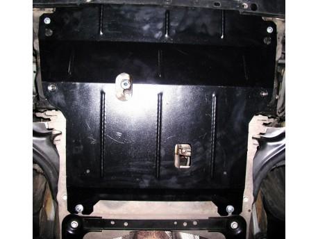 Фото Защита двигателя Renault Scenic 2003-2009 Кольчуга