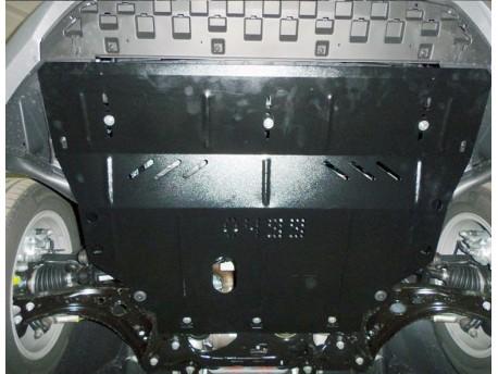 Фото Защита двигателя Skoda Octavia A7 2013- Кольчуга
