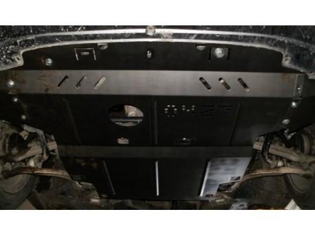 Фото Защита двигателя Skoda Superb 2002-2008 Кольчуга