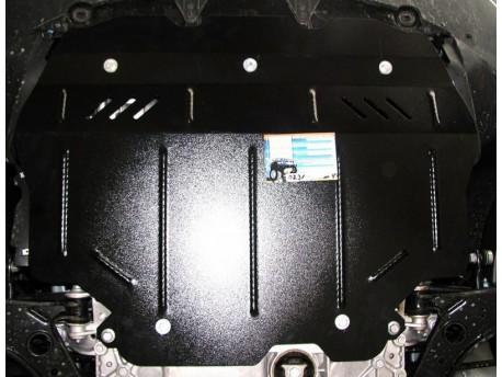 Фото Защита двигателя Skoda Superb 2008-2013, 2013-2015 Кольчуга