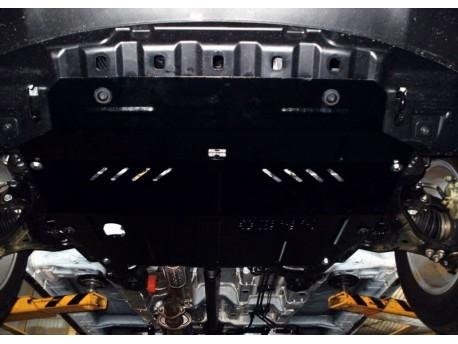 Фото Защита двигателя SsangYong Korando 2010-2013, 2013- АКПП Кольчуга