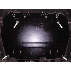 Защита двигателя Toyota Auris 2006-2010, 2010-2012 АКПП Кольчуга