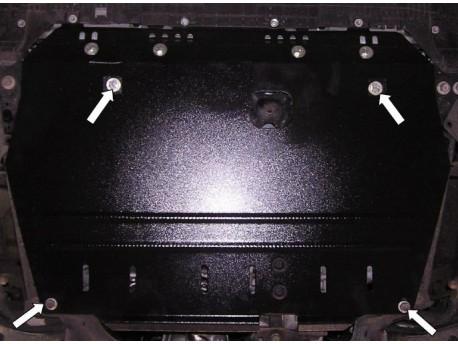 Фото Защита двигателя Toyota Auris 2006-2010, 2010-2012 АКПП Кольчуга