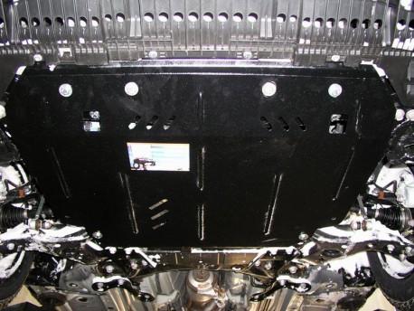 Фото Защита двигателя Toyota Corolla E15 2006-2013, E18 2013- Кольчуга