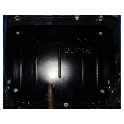 Защита двигателя Toyota Yaris 11-14, 14-17 Кольчуга