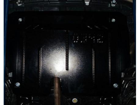 Фото Защита двигателя Toyota Yaris 11-14, 14-17 Кольчуга