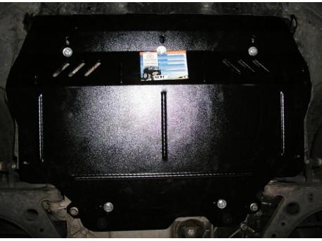 Фото Защита двигателя Volkswagen Caddy 04-15, 2015- с гидроусилителем Кольчуга