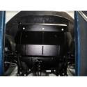 Защита двигателя Volkswagen Polo 2009- V-1.2 D дизель Кольчуга